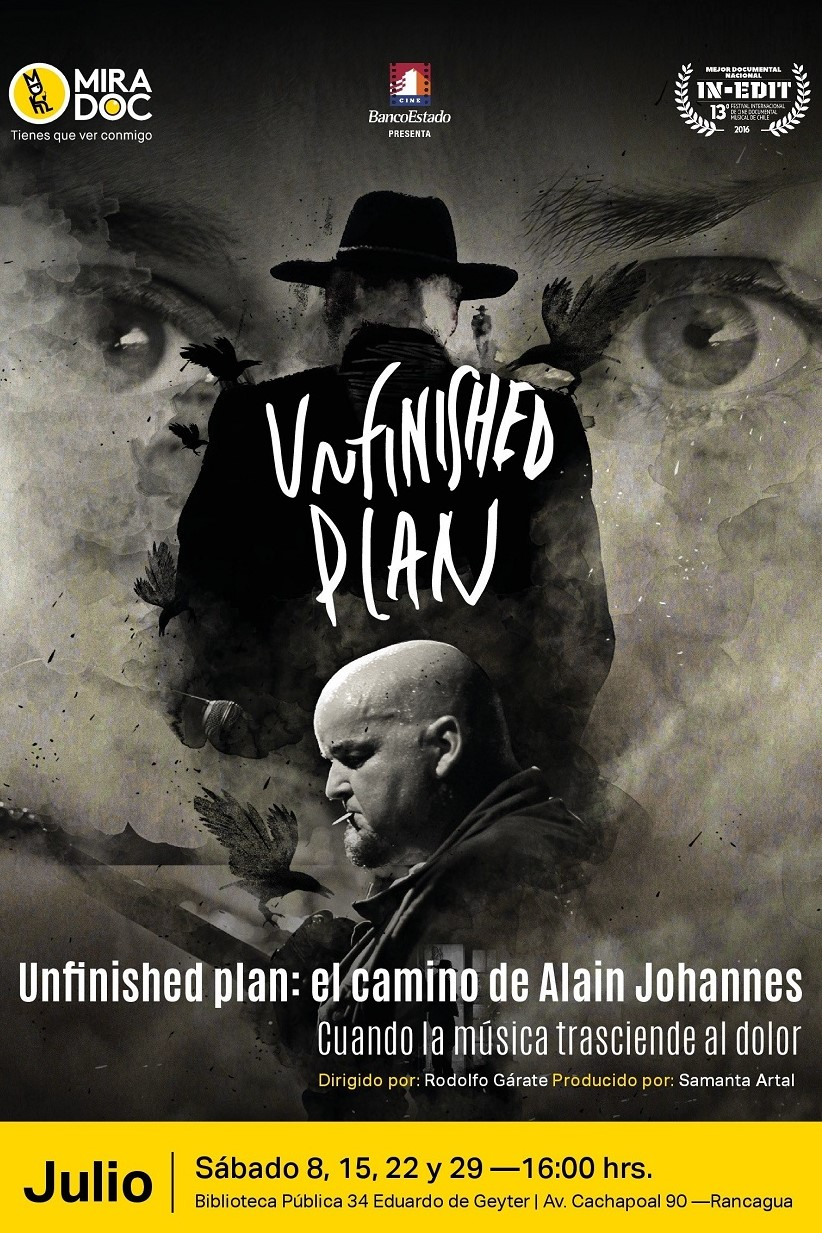 Cámara Subjetiva: Unfinished Plan: El camino de Alain Johannes